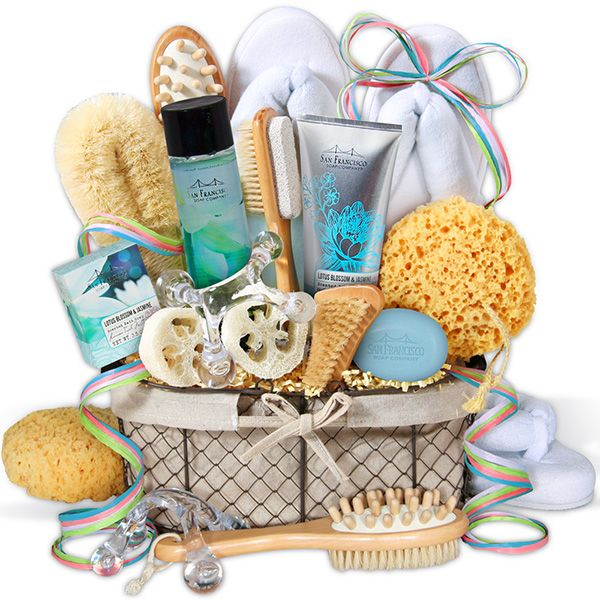 Premium Spa Gift Basket large