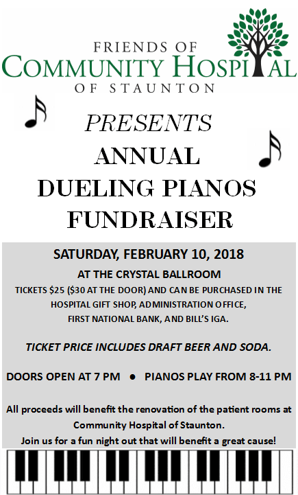 Dueling Pianos Main Flyer