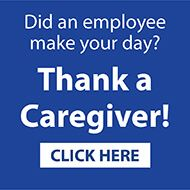 thank a caregiver graphic
